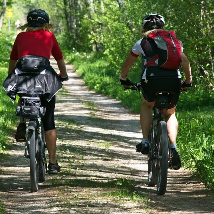 Randonnée cycliste et équestre