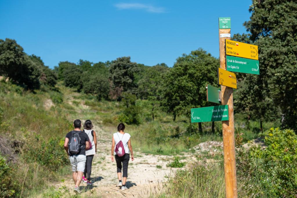 Sentier randonnée de Boissouteyrand